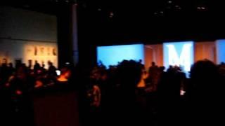 The crowd at Malan Breton's Fashion Week show