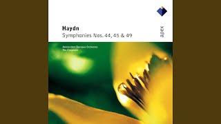 Haydn : Symphony No.44 in E minor, 'Funeral' : IV Finale - Presto