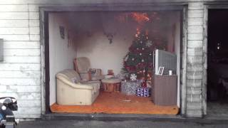2012 Christmas Tree Safety Demonstration