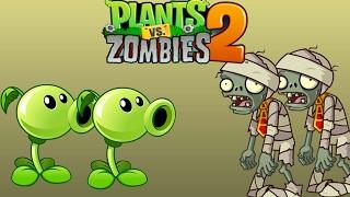 ПРОХОЖДЕНИЕ ИГРЫ ЗОМБИ ПРОТИВ РАСТЕНИЙ 2 1 серия Plants vs zombies