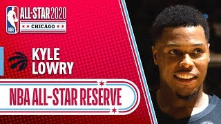Kyle Lowry 2020 All-star Reserve | 2019-20 Nba Season