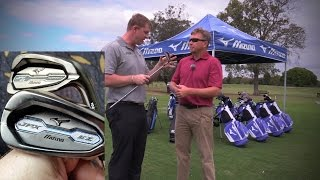 NEW 2015 Mizuno JPX EZ BORON Forged iron