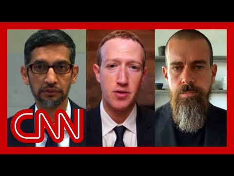 Watch Congress grill tech CEOs over misinformation