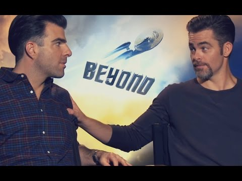 Best of Zachary Quinto & Chris Pine  2016 edition Star Trek Beyond cast