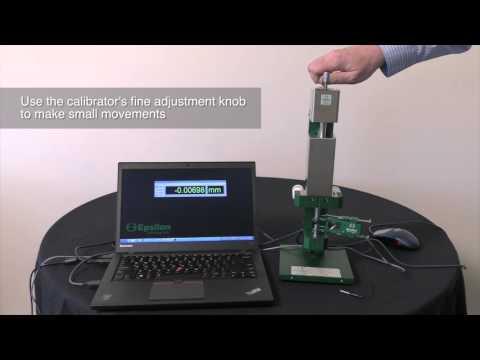 Digital extensometer calibrator with software position readout (Epsilon Technology - Model 3590VHR)