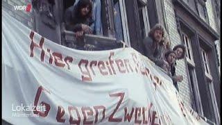 WDR: Hausbesetzer in Münster - Besetzung Frauenstraße 24 (F 24)