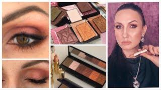 Трендовый макияж 2020г в Оранжево розовой гамме