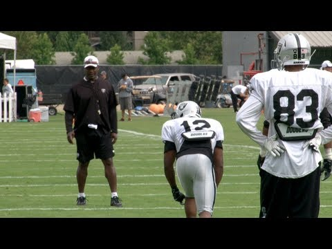 Oakland Raiders Training Camp 2013 - 1st Day With Pads