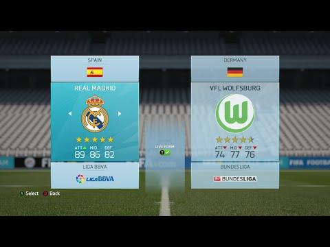 Real Madrid vs Wolfsburg - Computer Simulation Predictor!