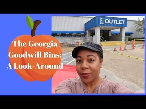 Georgia's Only Goodwill Outlet: A Look-Around