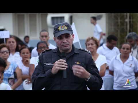 Assista vídeo especial da caminhada pela Paz organizada pela Paróquia de Areia Branca