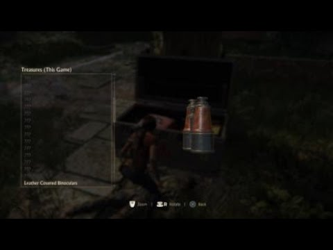 Uncharted: The Lost Legacy treasure locations: lether covered binocular