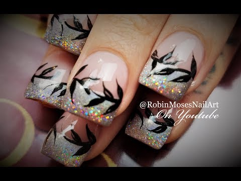 Pre Fall Nails | Autumn Glitz On Holo Tips!! Nail Art Design Tutorial thumbnail