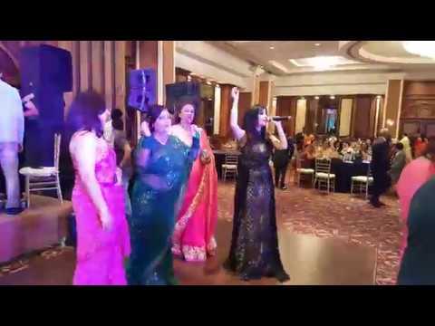 Shibani Kashyap Performing Baby Doll Live At Wedding Reception At