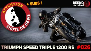 🔴 SPEED TRIPLE 1200 RS : PRIX, SPECS \u0026 DISPO DE LA TRIUMPH 2021 ⚠️CHUTE DE NEWS  🔴 REEKO Unchained