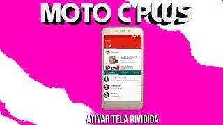 COMO DIVIDIR A TELA DO MOTO C PLUS !!!
