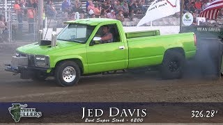 Central Illinois Truck Pullers - 2018 Two-Wheel Drive Super Stock - Truck Pulls Compilation