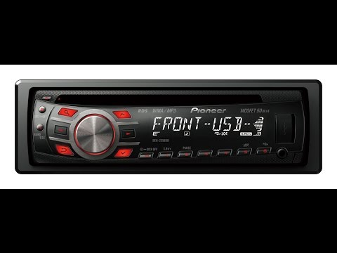 hqdefault pioneer auto radio cd mp3 usb deh 2350ub 2 rca aux youtube pioneer deh 2300 wiring diagram at eliteediting.co