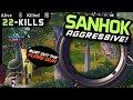 AGGRESSIVE HOT DROP - BOOTCAMP - SANHOK 22 KILLS - PUBG Mobile