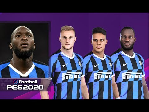 EFootball Pes 2020 Inter Faces, Stats & Overalls | PS4