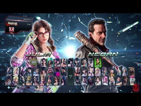 Tekken 7 Season 2 Updated Character Selection Screen With New Dlc