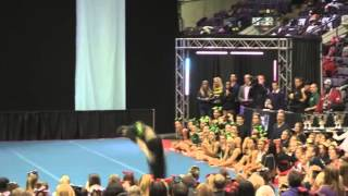 University of Regina Cheerleading - PCA UONCC 2012 - Male Tumble Comp - Colin