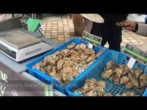 Farmer's Market in Blois, France
