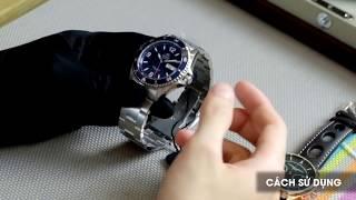 Cách sử dụng đồng hồ cơ automatic