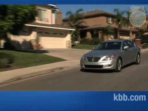 2009 Hyundai Genesis Review Kelley Blue Book