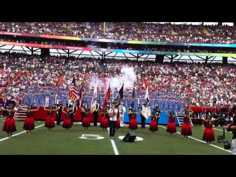 Kris Allen (American Idol) 2011 NFL Pro Bowl Star Spangled Banner
