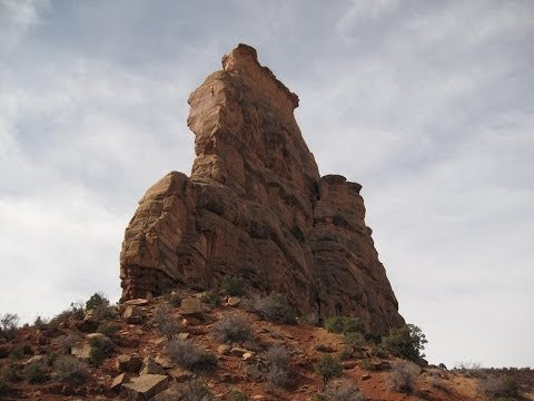 Otto's Route (III 5.9) on Independence Monument
