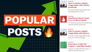 The 6 Best Popular Posts Plugins for WordPress