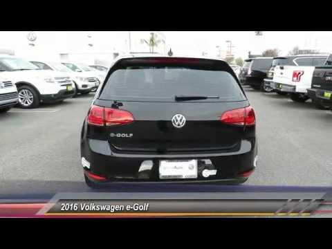 2016 Volkswagen e Golf Live Garden Grove CA 18176 YouTube