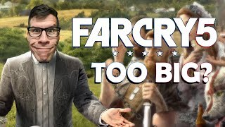 FAR CRY 5 IS TOO BIG? - Dude Soup Podcast #164