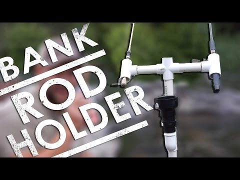 PVC Bank Fishing Rod Holder DIY | The Sticks Outfitter | EP. 22