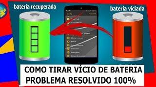 BATERIA VICIADA! como tirar VÍCIO de BATERIA do Android/calibrar a bateria do celular