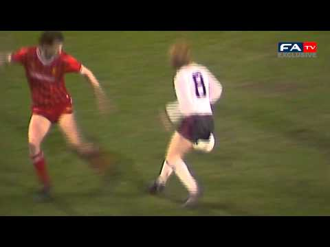 Bryan Robson stunning goal - Manchester United vs Liverpool - FA Cup semi final replay 1985