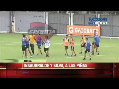 Escándalo en Boca: piñas entre Insaurralde y Jonathan Silva