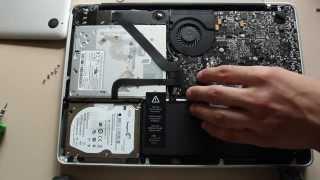 Чистка MacBook Pro 13 от пыли.(, 2013-11-08T15:35:25.000Z)