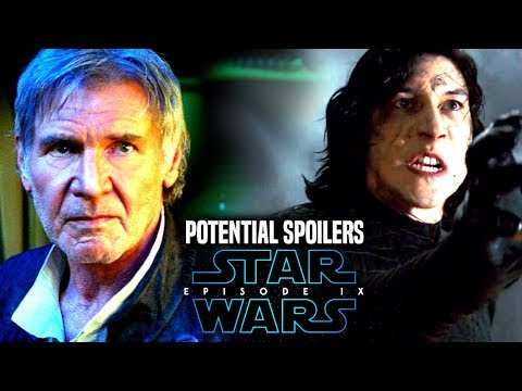 Star Wars Episode 9 Han Solo & Kylo Ren! Potential Spoilers & More