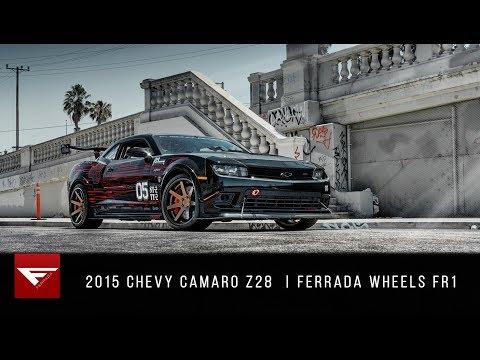 2015 Chevy Camaro Z28 | Because Race Car | Ferrada Wheels FR1