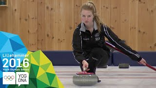 Curling Mixed Team - Round Robin Group A (5) | Lillehammer 2016 Youth Olympic Games