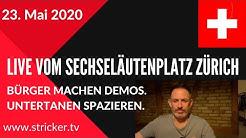 Live vom Sechseläutenplatz Zürich - ab ca. 14h (+/- 30 Minuten)