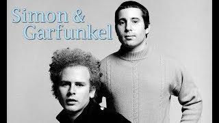 Simon & Garfunkel - Bridge Over Troubled Water (Lyric Video)
