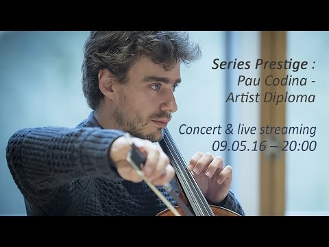 Series Prestige : Pau Codina - Artist Diploma
