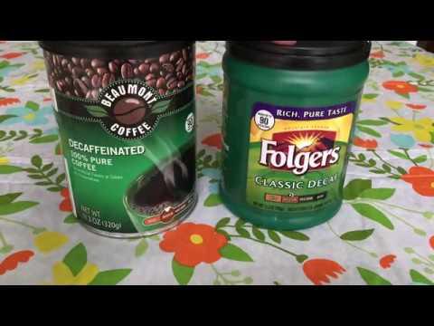 ~!* Aldi Decaf Coffee Vs Folgers Decaf Coffee~!*