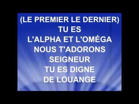 L'ALPHA ET L'OMÉGA - Groupe Ô Vives