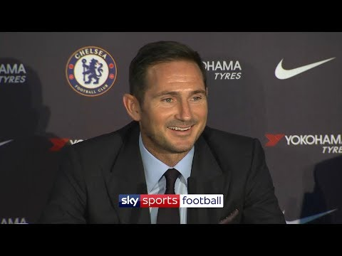Frank Lampard's first ever press-conference as Chelsea manager (uncut)