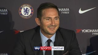 Frank Lampard39s first ever press-conference as Chelsea manager uncut