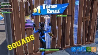 FORTNITE BATTLE ROYALE |Victory Royale| SQUADS